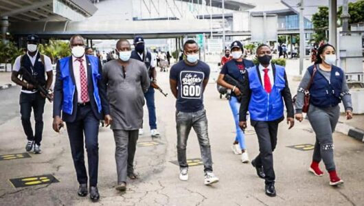 Interpol Arrests 3 Nigerians Who Scammed Companies In 150 Countries