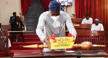 MakindePresents N266.6 Billion 2021 Appropriation Bill To Oyo State House Of Assembly