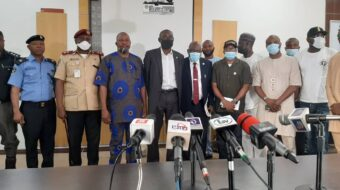 LASG Photo News: At The Media Briefing On Traffic Violation By Motorists, Motorcycle and Tricycle Riders On Wednesday