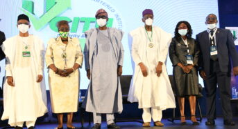 Lagos State Photo News: Govs. Sanwo-Olu and El-Rufai At The 22nd Annual Tax Conference Of CITN At Eko Hotels In Lagos On Thursday.
