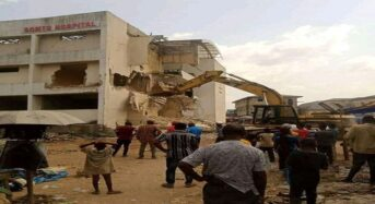 DEMOLITION OF SOMTO HOSPITAL IN OWERRI, IMO STATE :  MY POSITION