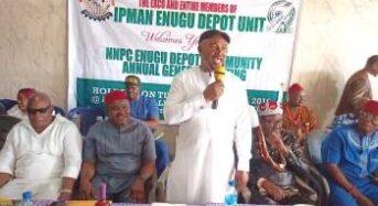 IPMAN decries continued neglect of Enugu NNPC depot