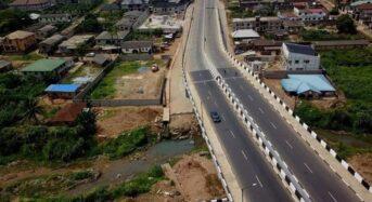 GOV. SANWO-OLU COMMISSIONS LAGOS-OGUN NETWORK OF ROADS WITH BRIDGE, PHASE II IN AGBADO-OKE ODO LCDA ON FRIDAY,FEBRUARY 19, 2021