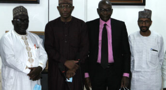 SEC Photo News: During a Meeting Between SEC And IST In Abuja Weekend