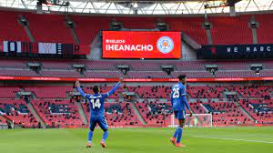 Iheanacho ends Leicester City's long wait for FA Cup final appearance