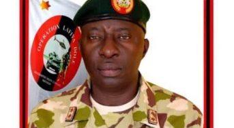 Maj. Gen. Farouk Yahaya Is New Chief Of Army Staff