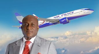 Onyema to in-flight passengers: 'Nigerians better-off living as one'