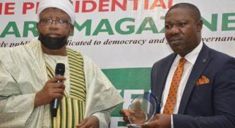 SAHCO Chairman Wins Presidential Diary Award