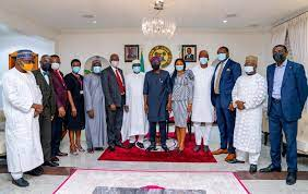 LASG PHOTO NEWS: GOV. SANWO-OLU RECEIVES FEDERAL GOVERNMENT VISITATION PANEL TO UNIVERSITY OF LAGOS IN A COURTESY VISIT AT LAGOS HOUSE, MARINA, ON THURSDAY, JUNE 3, 2021