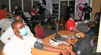 AIICO Photo News : Blood Donor Day, AIICO Conducts Blood Donation Exercise Among Its Employees.