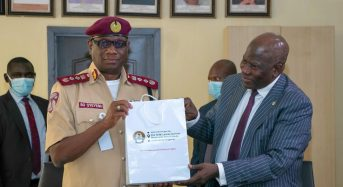NAICOM And FRSC Move To Strengthen Collaboration On Enforcement Of 3rd Party Motor Insurance.