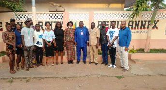 JIFORM Photo News; JIFORM President At Port Novo To Innagurate JIFORM Club.