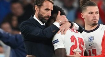 Southgate takes blame for England's shootout loss to Italy