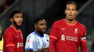 Hertha beat Liverpool in seven-goal thriller as Van Dijk returns
