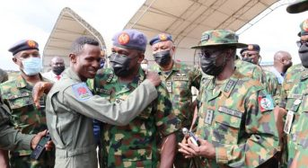 Ekhomu Applauds Armed Forces Rescue Effort Of NAF Crashed Jet Pilot