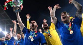 Italy celebrate Euro 2020 title, Prime Minister to receive team