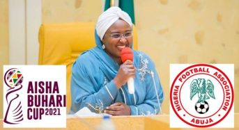 Aisha Buhari's Soccer Competition Kicks Off In Lagos