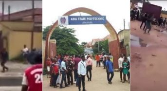 Abia Poly Students On Rampage Over Rape Of Colleague By Police