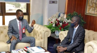 NDIC Photo News: During The Chairman EFCC Courtesy Call To The NDIC Senior Management .