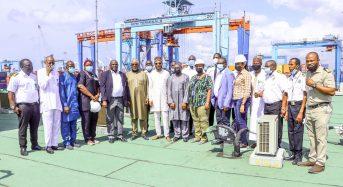 NPA Photo News: NPA MANAGEMENT INSPECTS CONTROL TOWER, LPC, LAGOS