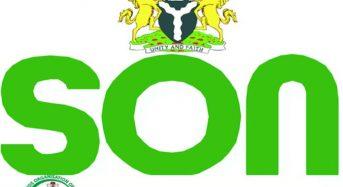 SON Declares War Against Substandard Cylinder Importers