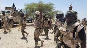 Nigerian troops kill 32 fleeing bandits as five policemen die