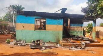 Hoodlums Raze Police Station In Imo State